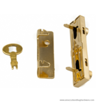 Bag frame lock 66X16 mm.