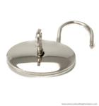 Oval padlock 45X45 mm.