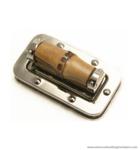 Bamboo handbag lock 62X34 mm.