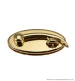 Handbag lock gold 63X30 mm.