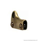 Strap-hook antique brass 41X28 mm.
