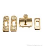 Hermès lock 35X27 mm.