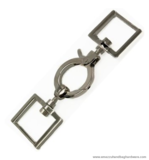 Snap hook 2-part nickel 115X33/25 mm.