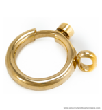 Snap-ring gold 41X41/14 mm.