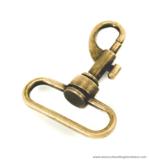 Swivel hook old brass 54X43/38 mm.
