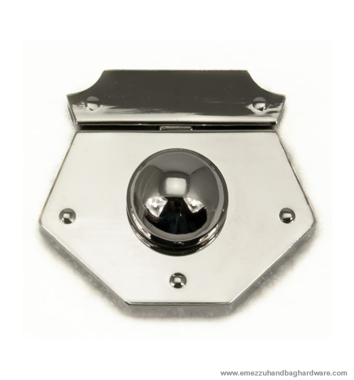 Handbag lock 60X55 mm.