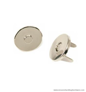 Magnetic snap closure thin Ø14x2 mm.