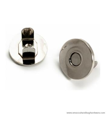 Magnetic snap closure thin Ø18x2 mm.