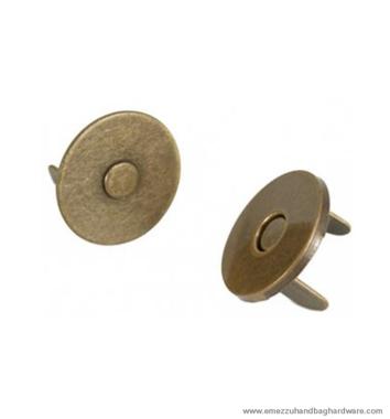 Magneetslot plat Ø14x2 mm.