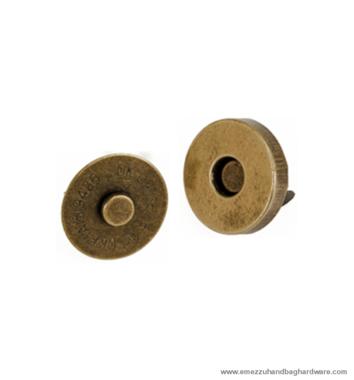 Magnetic snap closure Ø14x3 mm.
