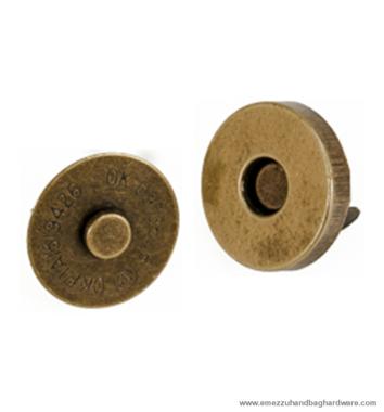Magnetic snap closure Ø18x3 mm.