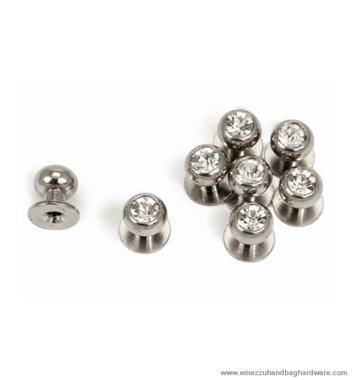 Geweerknop diamant 10/Ø8 mm.