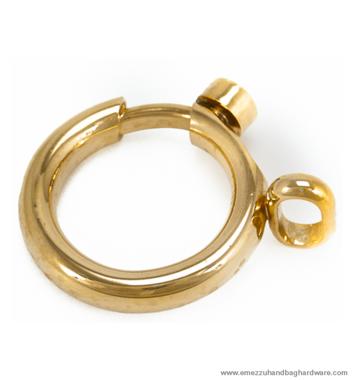 Musketon-ring 41X41/14 mm.